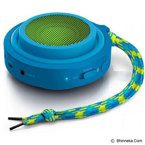 PHILIPS Speaker Bluetooth [BT2000A] - Blue - Speaker Bluetooth & Wireless